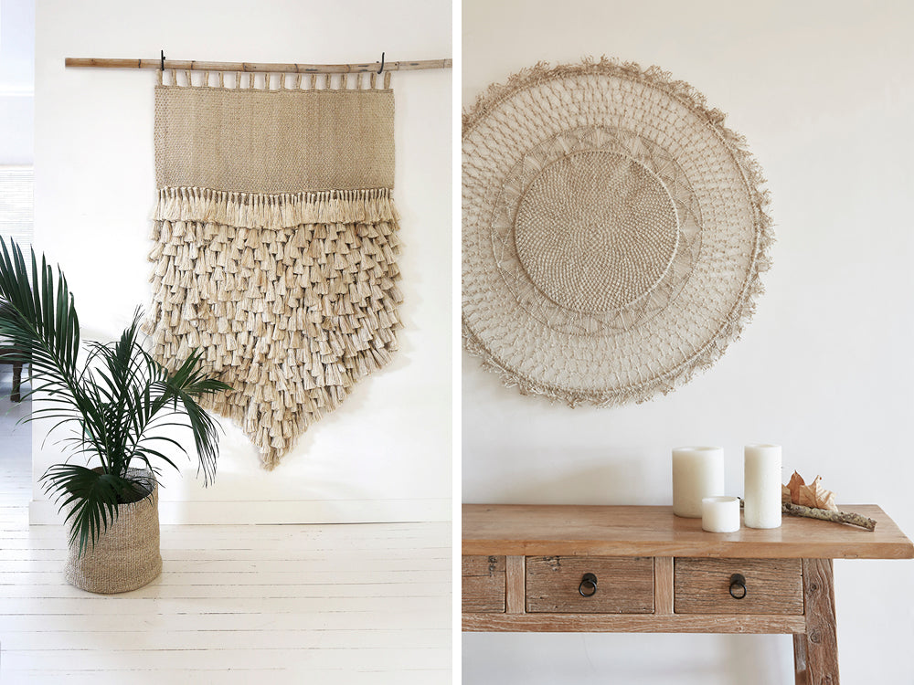 How to hang your wall hanging