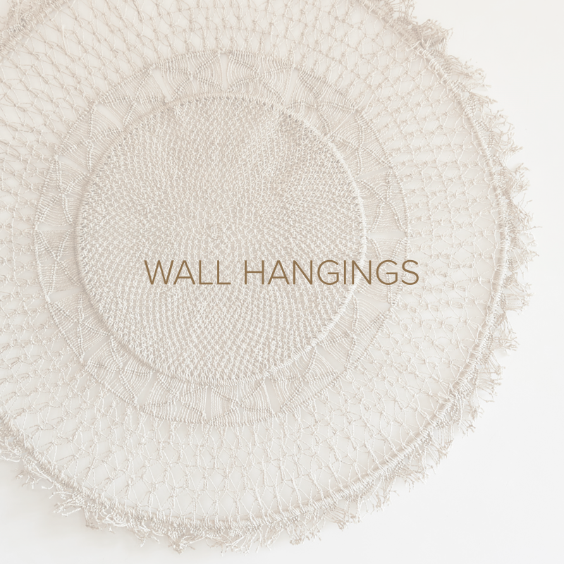 The Dharma Door Wall Hanging Woven Jute Macrame