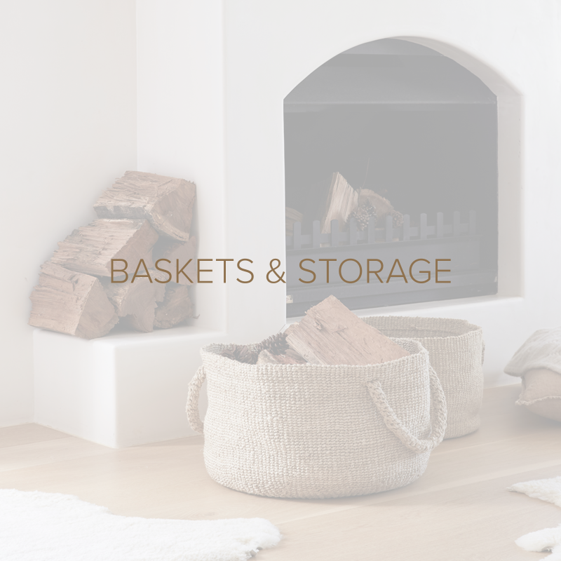 The Dharma Door Woven Baskets Storage