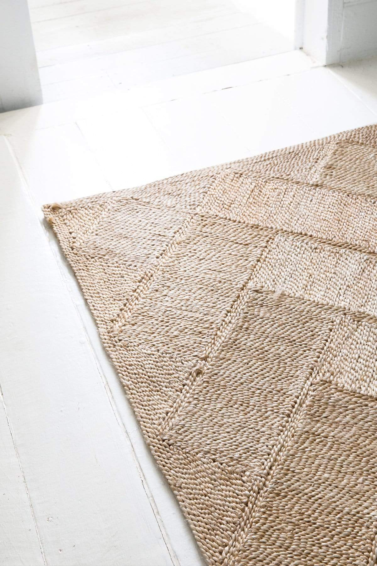 Bhola Jute Rug Natural 318 X 200cm The Dharma Door