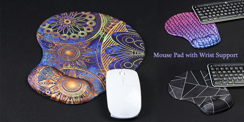 lizimandu mouse pad with wrist support