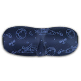 LIZI MANDU Deep Molded Sleep Mask, With Ear Plug And Carry Pouch Llightweight & Comfortable & Super Soft With Adjustable Strap Eye Mask(Dark Sky)