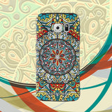 Samsung Galaxy S6 Edge Case,LIZI MANDU Soft TPU Textured Pattern Case for Samsung Galaxy S6 edge(Mysterious Totem)