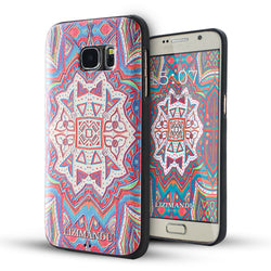 Samsung Galaxy S7 Case,LIZI MANDU Soft TPU textured pattern Case for Samsung Galaxy S7(Maya Totem)