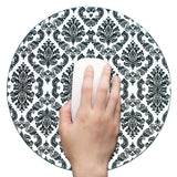 Anti Slip Round Mouse Mat (Lace Flower)