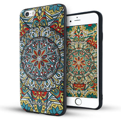 iphone 6s plus case,iphone 6 plus case,LIZI MANDU soft TPU textured pattern Case for iphone 6 plus/6s plus(Mysterious Totem)