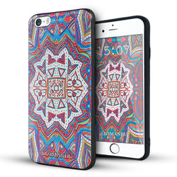 iphone 6s plus case,iphone 6 plus case,LIZI MANDU soft TPU textured pattern Case for iphone 6 plus/6s plus(Maya Totem)