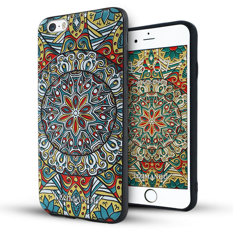 iPhone 6 / 6s Textured Soft Case (Mystic compass)