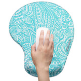 LIZI MANDU Memory Foam Non Slip Mouse Pad Wrist Rest For Office, Computer, Laptop & Mac - Durable & Comfortable & Lightweight For Easy Typing & Pain Relief-Ergonomic Support(Spiral)