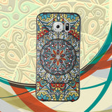 Samsung Galaxy S6 Case,LIZI MANDU Soft TPU textured pattern Case for Samsung Galaxy S6(Mysterious Totem)