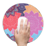 Anti Slip Round Mouse Mat (Colorful Gearr)