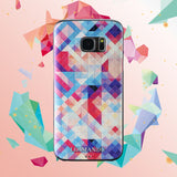 Samsung Galaxy S7 Textured Soft Case (Colorful Puzzle)