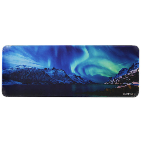 Anti-skid Extra Large Mouse Mat(Aurora)