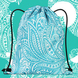 LIZI MANDU Print Drawstring Backpack Rucksack Shoulder Bags Gym Bag(Spiral)