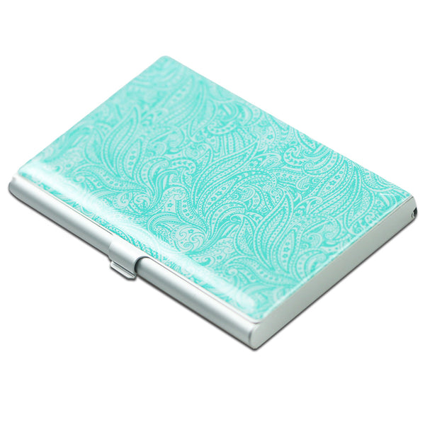 LIZI MANDU Credit Card Holder - Business Card Holders - Credit Card Holder Business ID Card Case(Spiral)