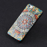 iPhone 5s Case,LIZI MANDU Soft TPU textured pattern Case for iPhone 5s/5/se(Mysterious Totem)