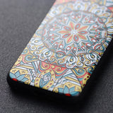 iPhone 5 / 5s / 5se Textured Soft Case (Mystic compass)