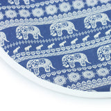 "LIZI MANDU Ironing Board Cover, Heat Resistant, (20"" x 55"") Fits Standard and Large Boards(Elephant)"