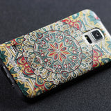 Samsung Galaxy S5 case,LIZI MANDU soft TPU textured pattern Case for Samsung Galaxy S5(Mysterious Totem)