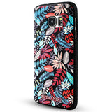 Samsung Galaxy S7 Textured Soft Case (Maple Leaves)