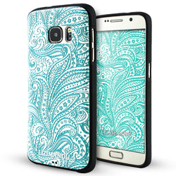 Samsung Galaxy S7 Case,LIZI MANDU Soft TPU textured pattern Case for Samsung Galaxy S7(Spiral)