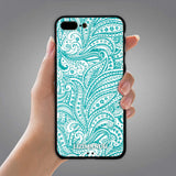iPhone 8 Plus Case, iPhone 7 Plus Case, LIZI MANDU TPU Texture Pattern Case for iPhone 7 8 Plus(Spiral)