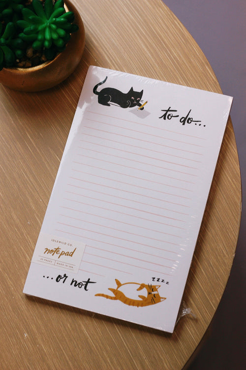 TO DO OR NOT CAT NOTEPAD