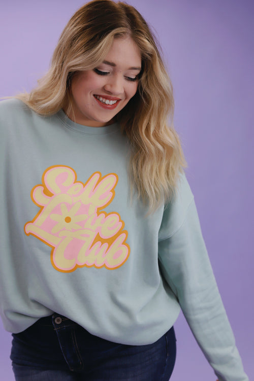 PLUS - SELF LOVE CLUB PULLOVER