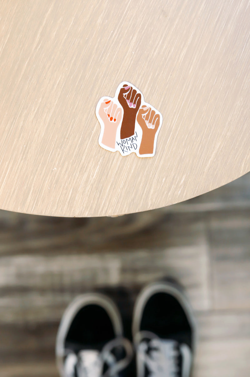 WOMANKIND STICKER