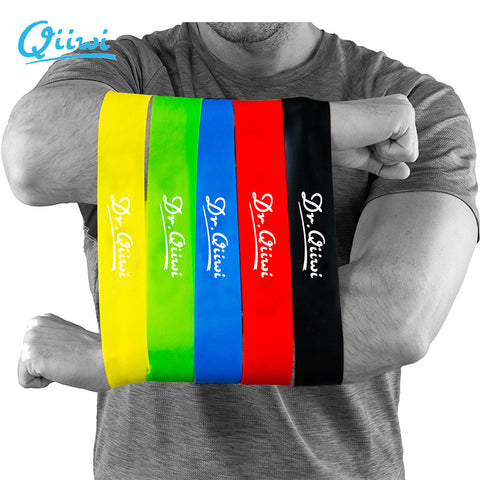 Resistance Band Set Training Workout Rubber Loop Bands for Cross-fit Stretching