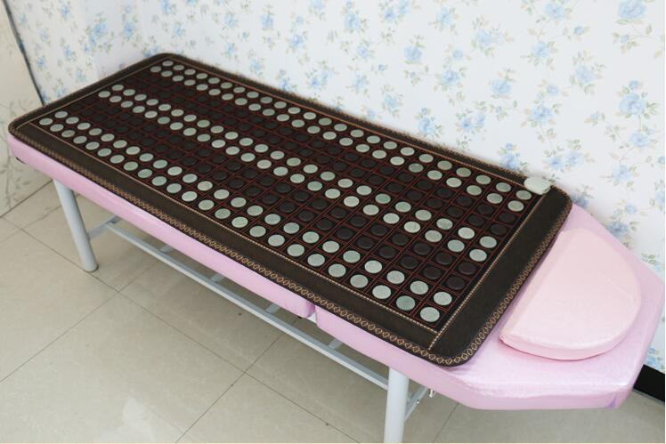 Health care heating jade cushion Natural tourmaline mat physical therapy mat heated jade mattress 4 Size available
