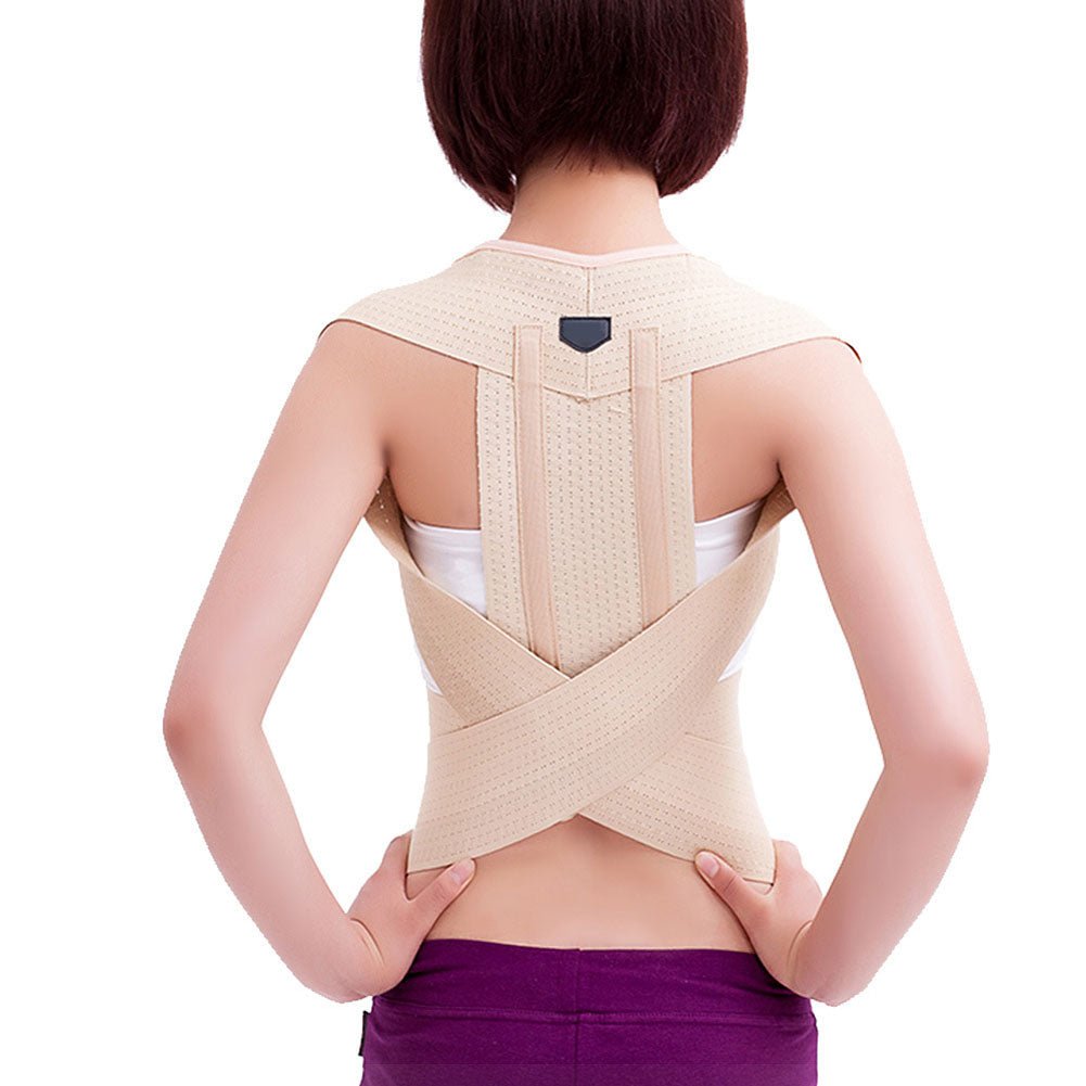 Hot Sale Women Men Posture Correction Waist Shoulder Chest Back Support Corrector Brace Belt Easing Body Fatigue Health Care