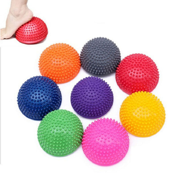 Yoga Ball Physical  Massage Inflatable Anti-slip Light-weight PVC Fitness Appliance Equipment
