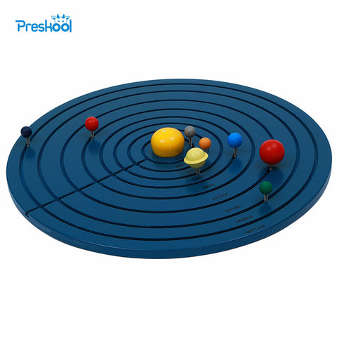 Baby Toy Montessori Solar System Early Childhood Education Kids Brinquedos Juguetes