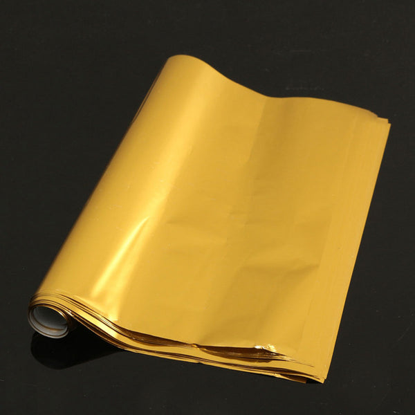 Gold Silver Red Hot Stamping Foil Paper Laminator Laminating Transfer on Elegance Laser Printer Craft Paper 50Pcs 20x29cm A4