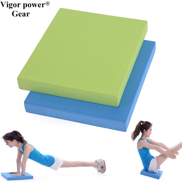 35*40*5cm Non-slip Yoga Balance Pad Gym foam cushion Yoga  Seat Pad for  Home Exercise Fitness Prop and Physical Therapy