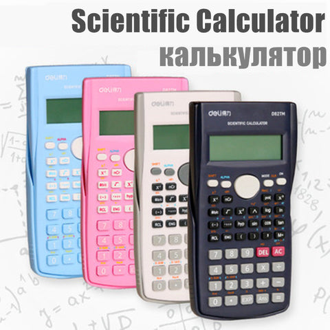 2018 Function Handheld Multi-function Calculator for Student Examination Accounting Mathematic Calculator Scientific Calculator