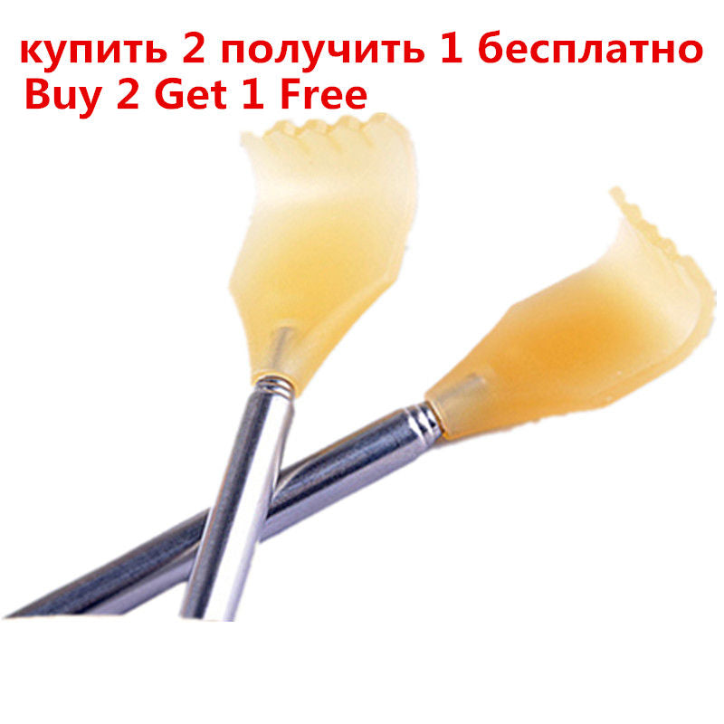 Back Scratcher Telescopic Scratching Backscratcher Massager Kit Back Scraper Extendable Telescoping Itch Health Products Hackle