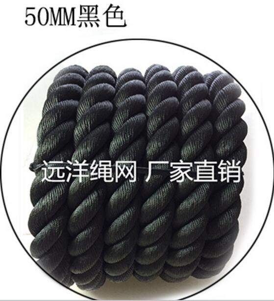 9M*50MM Durable Fitness ropes Gym Rope Physical training battle rope
