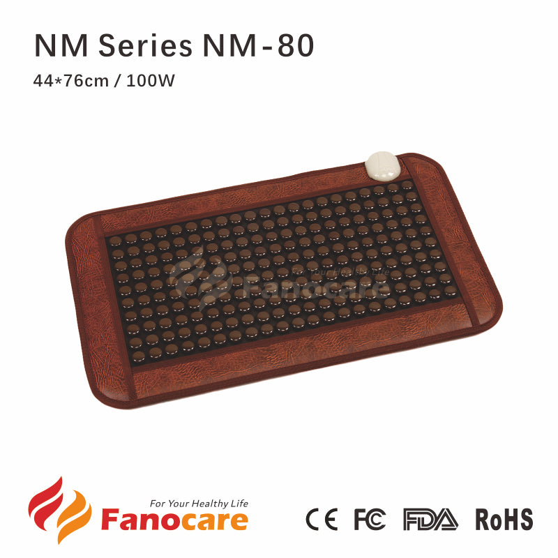 NM series Korea Tourmanium Stone Healing Infrared Thermal Nugabest Similar Massage Therapy Tourmaline Mat