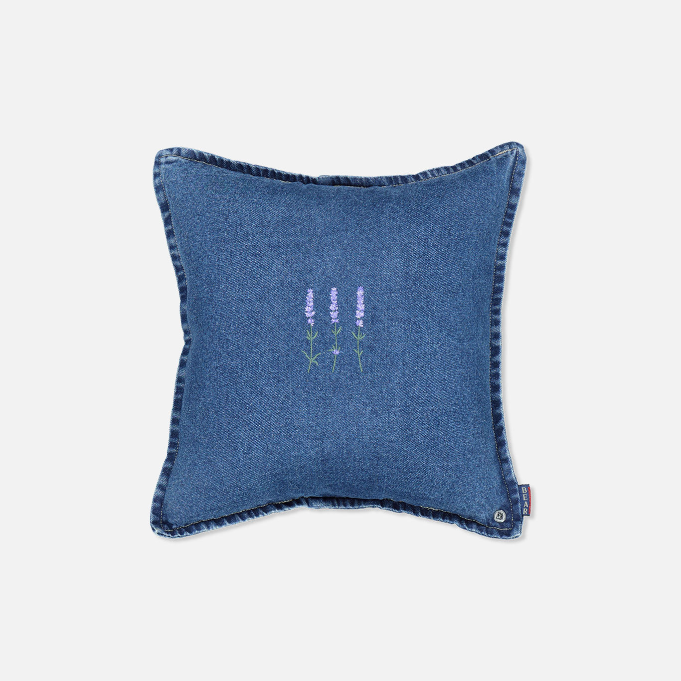 Button Fly Cushion – Lavender Trio