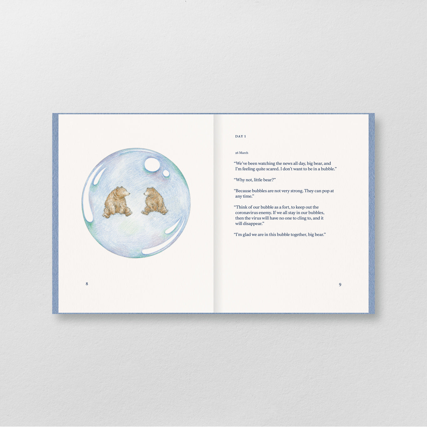 Two Bears in a Bubble Book