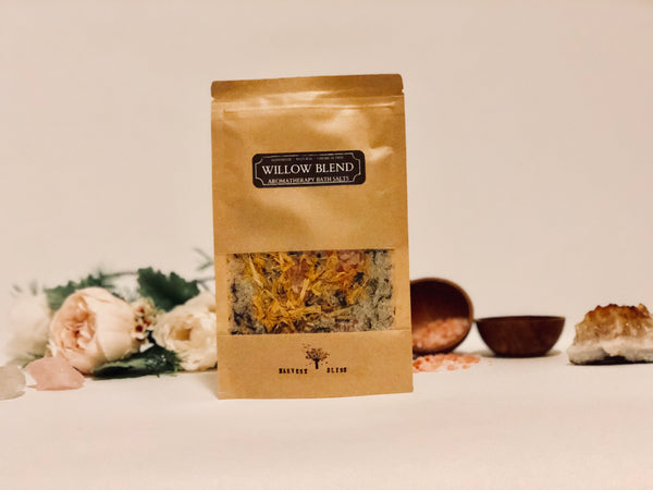 Willow Blend Aromatherapy Bath Salts 100g