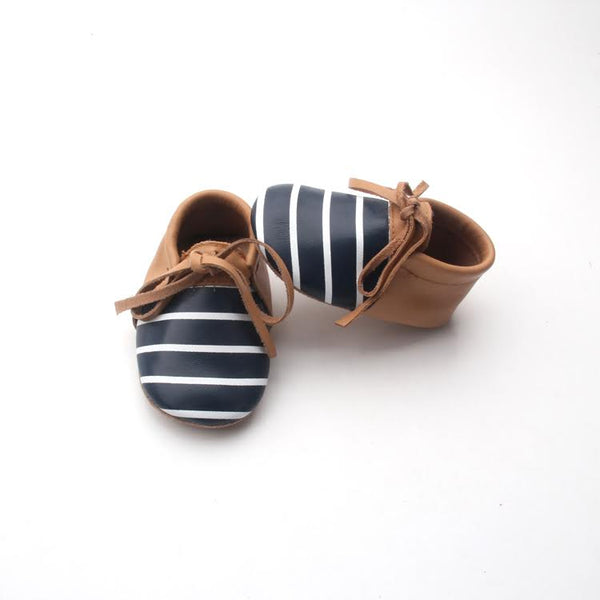 Tilodi Striped Moccasins