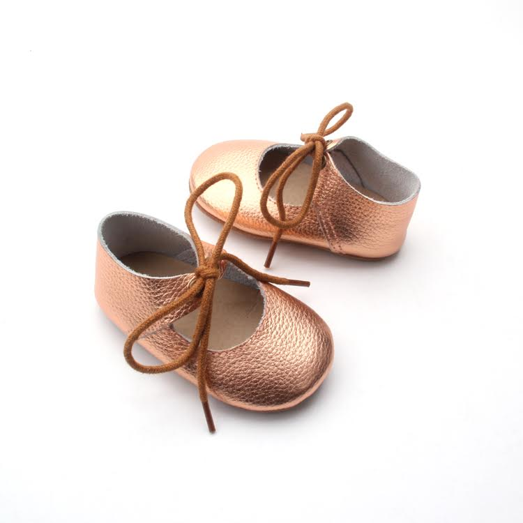 Lerato Mary Jane Lace ups Rose Gold