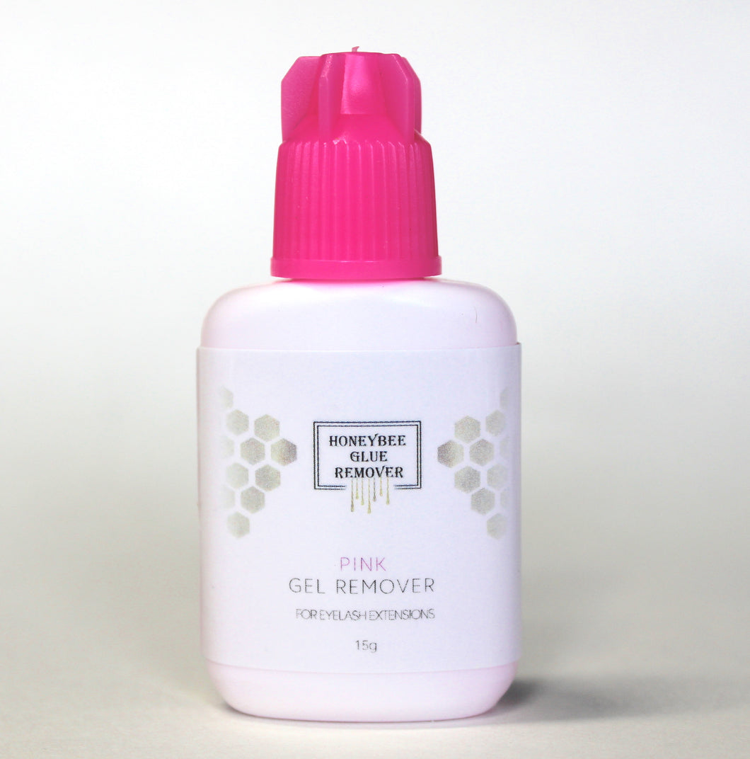 Pink Gel Adhesive Remover by Honeybee Lash Co.