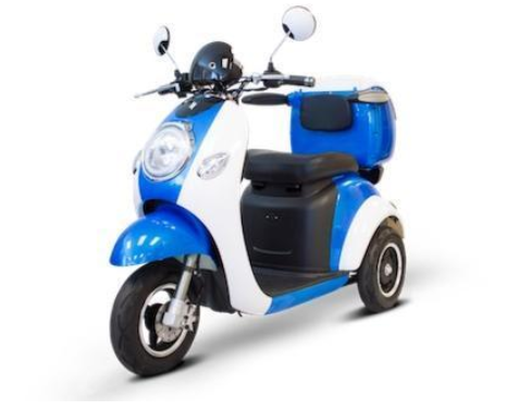 EWheels EW-37 Three-Wheel Electric Mobility Scooter