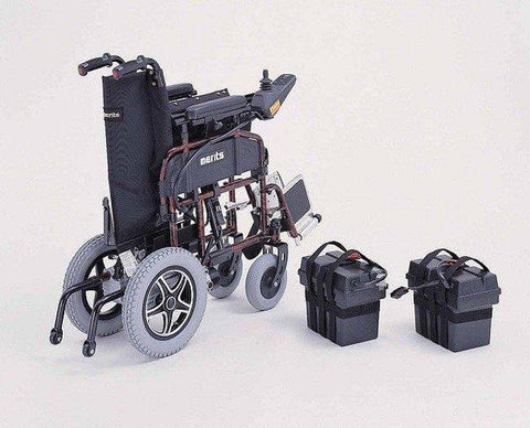 Merits Health P101 Folding Electric Wheelchair