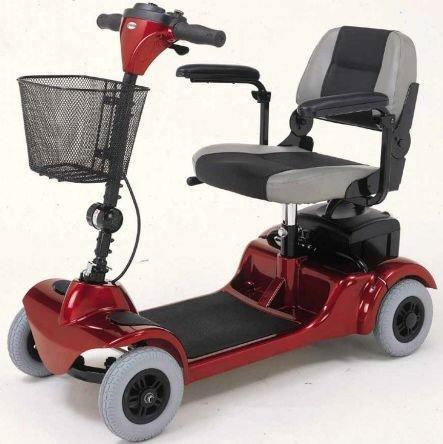 Merits Health S549 Mini-Coupe Mobility Scooter