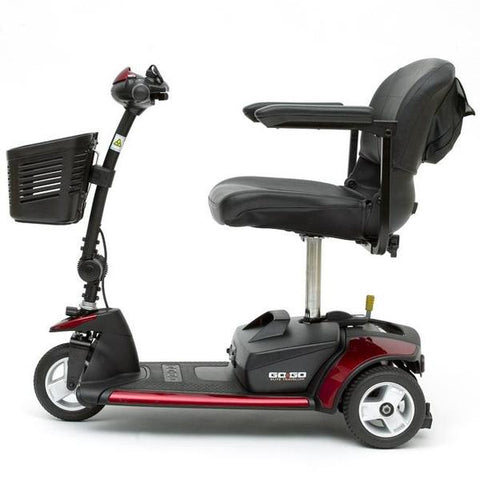 Pride Mobility Go-Go Elite Traveller 3-Wheel Travel Mobility Scooter